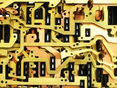 Geräte-Innereien: Der Fotograf Sylvain erforscht ausgediente Elektrotechnik von innen