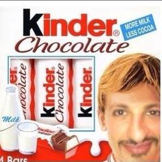 The new face of Kinder Chocolate Alexmaiden Messaggi  #photo #io #milan #city #friend #kinder #chocolate #hastag #FaceParty #tumblr #twitter #instagram #pinteres #facebook #foursquare #face #food #follow