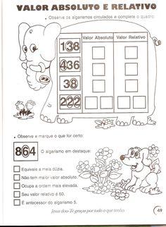 coletânea de atividades de matemática 3º e 4º ano | Professora Priscila Piassi