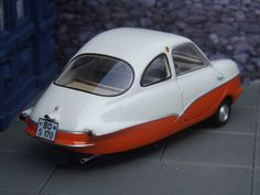 Fuldamobil S7 (1957) | 1:43 scale model by Best of Show, of … | Flickr