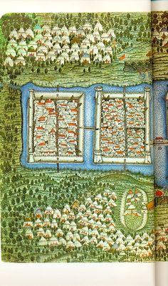 Szigetvár before the siege by Matrakçı Nasuh