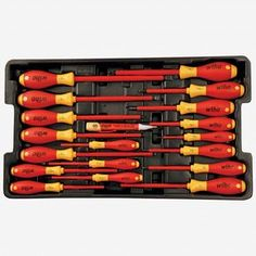Wiha 32800 Insulated 80 Pc Set In Rolling Tool Case
