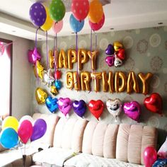 56 Best Simple Birthday Decorations Images Ideas Party Balloons