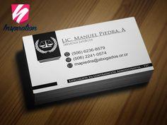 Diseño e impresión  para abogado