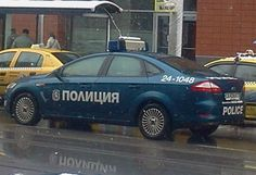 Police Car Bulgaria from Blagoevgrad.eu