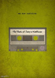 The Perks of Being a Wallflower (2012) ~ Minimal Movie Poster by Matt Sharah #amusementphile