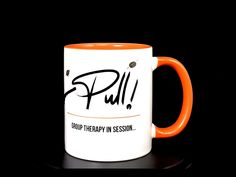 """""""Pull!"""". Treat yourself or surprise someone special with a unique mug on the theme of clay pigeon shooting. Clay Pigeon Shooting, Mugs, Unique, Tumblers, Mug, Cups"""