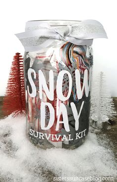 snow day survival kit