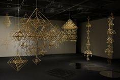 News - HIMMELI -ヒンメリ作りを楽しむ Byzantine, Chandelier, Ceiling Lights, Lighting, Crafts, Home Decor, News, Room, Bedroom