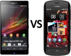 Compare Sony Xperia ZL vs Nokia 808 PureView - Specs Of All