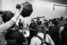 Backstage at Victoria Beckham Fall/Winter 2014