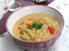 ZUPPA DI AVENA ricetta primo piatto caldo | ricette light