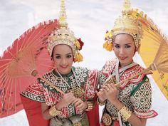 Traditional Thai Classical Dance Costume, Thailand