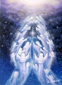 healing angel hands release fear and doubt Kunst Online, I Believe In Angels, Praying Hands, Angel Pictures, Angels Among Us, Real Angels, Angels In Heaven, Heavenly Angels, Guardian Angels