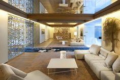 Interior of the Mandarin Oriental Hotel in Barcelona