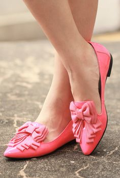 Comfy in chic flats #shoe #flats #inspiration