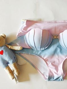Pink Scallop High Waist Bikini Suit - stayingsummer