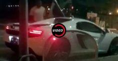 Busted! Valet Parker Caught Joyriding A McLaren At 4 AM #McLaren #McLaren_MP4_12C