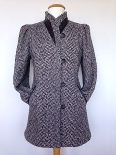 Vintage 80s High Fashion NEW YORK GIRL Coat In by VintageEclectica, $139.00