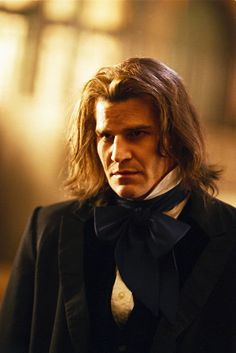 David Boreanaz as Angel/Angelus - vampire villain compelled to be good on the Buffy the Vampire Slayer tv series and spin-off. Angel Show, The Wb, David Boreanaz, Buffy The Vampire Slayer, Male Vampire, Fantasy Movies, Joss Whedon, The Villain, Movie Characters