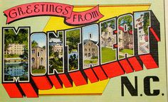 Greetings from Montreat NC postcard   Flickr - Photo Sharing!