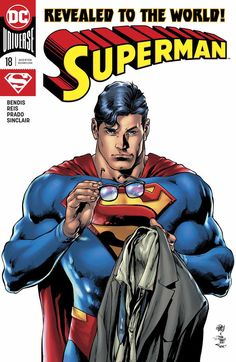 1ST PRINTING EPTING MAIN COVER SUPERMAN DC UNIVERSE ACTION COMICS #1011 2019