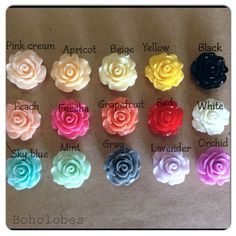 Olivia Rose pair SINGLE FLARE plugs for gauged or by Boholobes
