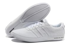 wholesale dealer 0d42a efd18 Cheap 2014 New Adidas Porsche Design S3 Men First layer of leather casual shoes  in White In UK, online store