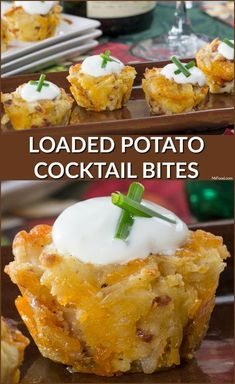 Get the party started with these Loaded Potato Cocktail Bites! Thanks to a freezer shortcut, they're easier than ever. Get the party started with these Loaded Potato Cocktail Bites! Thanks to a freezer shortcut, they're easier than ever. Potato Appetizers, Best Appetizer Recipes, Finger Food Appetizers, Yummy Appetizers, Appetizers For Party, Finger Foods, Christmas Appetizers, Appetizers Table, Snacks For Party