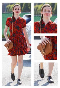Emmy Rossum Street Style: Look Of The Day