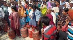 tejasav lpg gas agency consumer On the road | Ghazipur Live