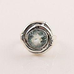 Blue Topaz Sterling Silver Nest Ring – Keja Designs Jewelry