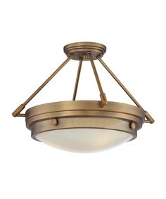 Savoy House 6-3351-3 Lucerne 19 Inch Semi Flush Mount