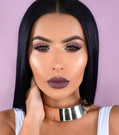 @kyliecosmetics: @amrezy wearing LOVE BITE  Obsessed with this color for fall.