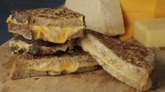 Mario's Makeover: Fancy Grilled  Cheese  Sandwiches