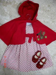 Chapeuzinho Vermelho Fantasia Infantil