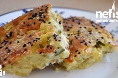 Börek Tadında Peynirli Otlu Çörek - Nefis Yemek Tarifleri
