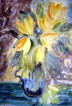 Olga Pavlova.Joy of Creation.: Tulips