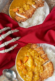 Chicken Katsu Curry from Castlevania