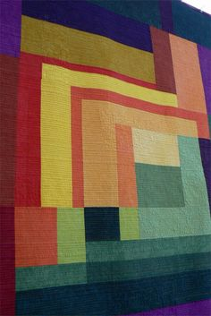 Riot of Color Quilt