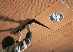 LAWAPAN® SYSTEEMPLAFOND.  het is een hout nervige systeem pan , het is een pan…