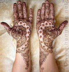 Bridal Henna Designs   Latest Bridal Mehndi Designs-7