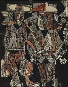 Fisherman and Wife — Eduardo Paolozzi (1946)
