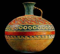 Inca pottery from Peru Glass Ceramic, Ceramic Clay, Ceramic Pottery, Pottery Art, Native American Pottery, Native American Art, Inca Art, Inka, Art Populaire