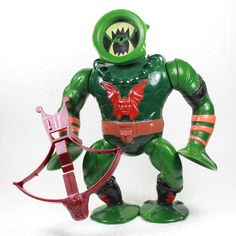 Leech, a member of the Evil Horde who had a suction-cup head, from the Masters of the Universe toy line