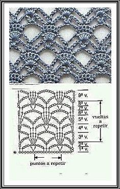 Watch This Video Beauteous Finished Make Crochet Look Like Knitting (the Waistcoat Stitch) Ideas. Amazing Make Crochet Look Like Knitting (the Waistcoat Stitch) Ideas. Crochet Diy, Crochet Motifs, Crochet Borders, Crochet Diagram, Crochet Stitches Patterns, Crochet Chart, Love Crochet, Knitting Stitches, Crochet Designs