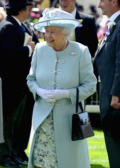Queen Elizabeth II attends day one of Royal Ascot at Ascot Racecourse on June 17, 2014