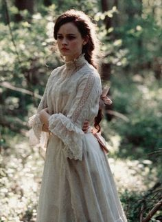 Alexis Bledel in Tuck Everlasting. I love this movie as well as the book and the setting is magical.