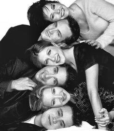 Friends Cast- Joey, Phoebe, Ross, Rachel, Chandler, and Monica