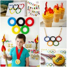 Six for Saturday or Sunday - Olympic Spirit | Olympic DIY and Craft Ideas